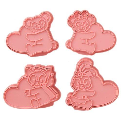 東京ディズニーシー『ダッフィー&フレンズ クッキー型 ダッフィーのハートウォーミング』