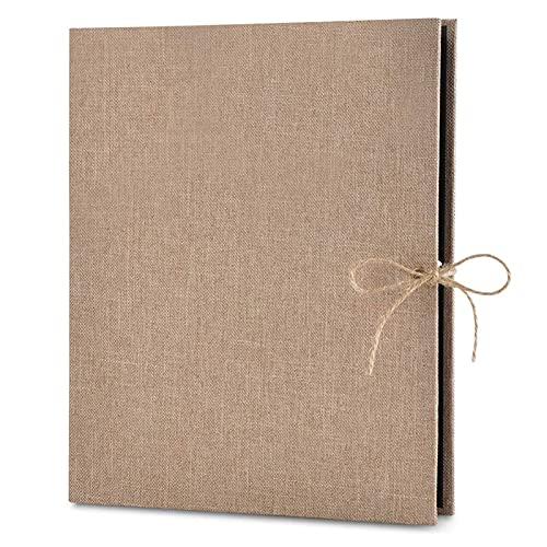 Álbum de fotos 28 x 21 cm Brown 30 hojas de papel...