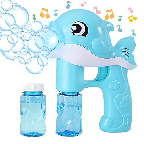 MHwan soplador de burbujas, máquina de burbujas eléctricas, Juguetes automáticos Bubble Maker...
