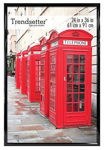 MCS Trendsetter 24x36 Inch Poster Frame, Black (65549)