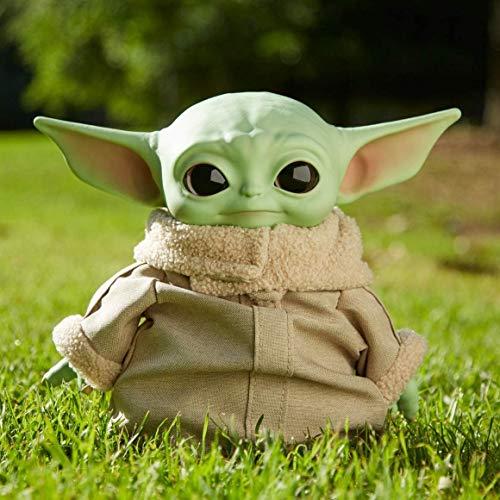 Disney - Star Wars Baby Yoda, El Niño, Mandalorian, 28 cm de alto.