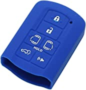 2//3 Button Silicone Remote Key Cover Case For VAUXHALL OPEL CORSA ASTRA Blue CQ