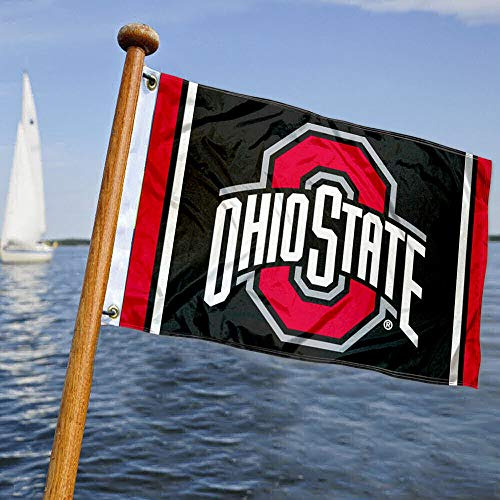 College Flags & Banners Co. OSU Buckeyes Boat and Nautical Flag