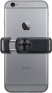 Suporte Veicular Universal para Smartphones, compatível com todos os modelos de smartphones até 8 cm de largura, Preto/Cin...