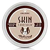 Natural Dog Company Skin Soother, All Natural Healing Balm for Dogs, Relieves Dry, Itchy Skin, Treats Skin Irritations, Wounds, Hot Spots, Dermatitis, 4oz Tin, 1 Count