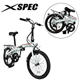 "Best Folded Bikes - Xspec 20"" 7 Speed City Folding Mini Compact Review"