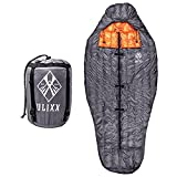 Ulixx Sleeping Bag for Adults – Extra Wide, Backpacking Quilt, Lightweight, 3 Season Camping; Versatile Design, Perfect for Side Sleepers.