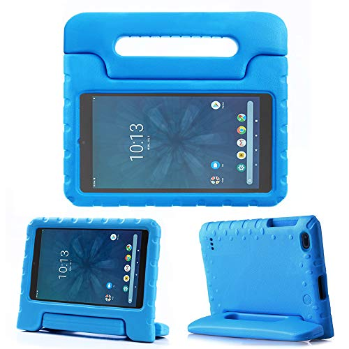 "REGOKI Onn 8"" Case, Lightweight Handle Stand Kids Cover Compatible with Walmart Onn 8inch Android Tablet (Model ONA19TB002) 2019 Released (Blue)"
