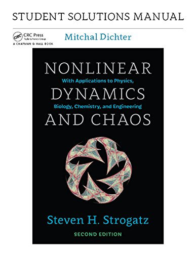 Student Solutions Manual for Nonlinear Dynamics and Chaos, 2nd edition (English Edition)