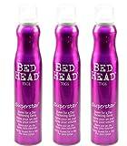 Tigi Bed Head Superstar Queen for a Day Lot de 3 vaporisateurs de mousse Volume 311 ml