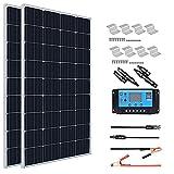 XINPUGUANG Solar Panel 300 Watt 12V Monocrystalline Solar...