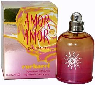 Amor Amor Eau Fraiche de Cacharel para mujer en spray de fragancia refrescante / 100 ml Edición 2005