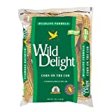 Wildlife formula corn on the cob A premium corn on the cob; feeds squirrels, raccoons, ducks, geese, blue jays, gray jays and other wildlife Low moisture to reduce mold