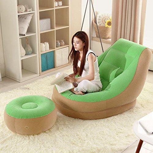Sizll Lazy Nap Petit canapé lit gonflable Canapé Unique balcon Chambre à coucher Lits Hostel Lazy Chaise de loisirs créatifs 1