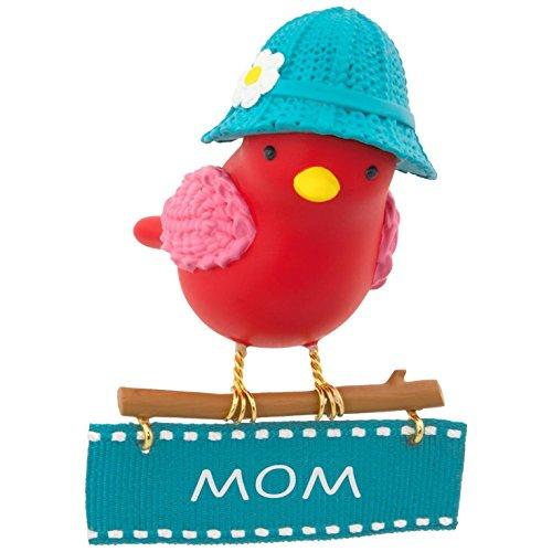 Hallmark Keepsake 2017 Winter Bird Mom Christmas Ornament