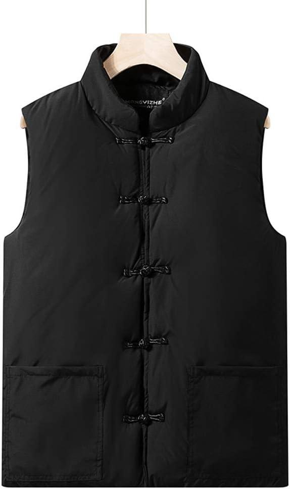 WGZ- Cotton Vest Winter 25% OFF Men's Sleeveless Large Jacket Seasonal Wrap Introduction Thick