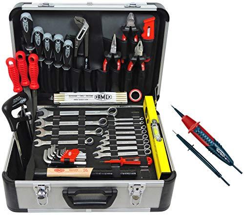 Famex 729-88 Alu Werkzeugkoffer Set...