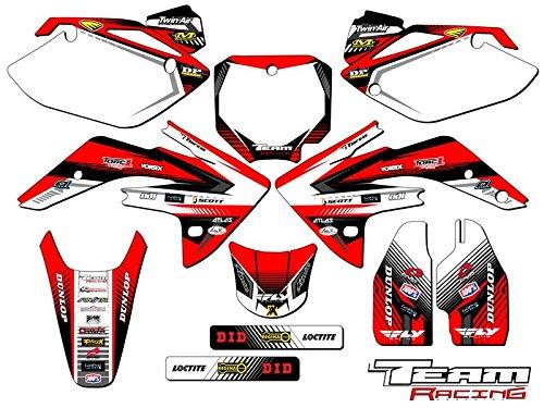 Team Racing Graphics kit compatible with Honda 2007-2020 CRF 150R, ANALOG