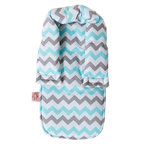 Purchase Infant Head Support- Chevron Aqua