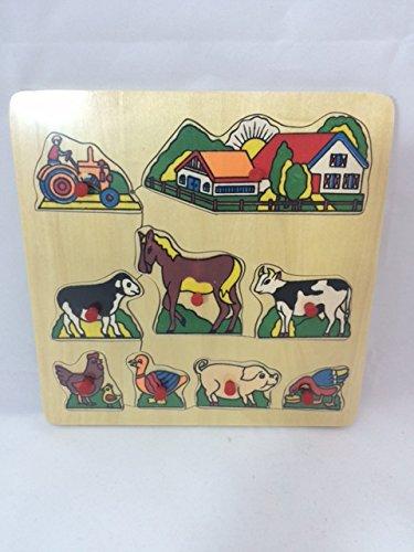 EASYKADO - Puzzle en Bois 19x19 Cm