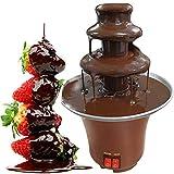 MIAOLEIE Fuentes De Chocolate 3 Niveles Máquina De Fusión Eléctrica De Chocolate Eléctrico De Acero Inoxidable para Fiesta En Casa