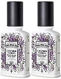 PooPourri Before You Go Spray, Lavender Vanilla, 2 Count of 2 Fl Oz Bottle, 4 Fl Oz