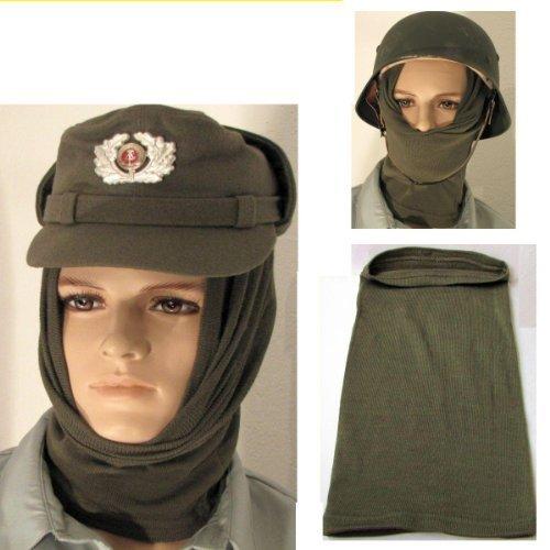 NVA Oma Schal ähn Wehrmacht Kopfschutz f. Motorradfahrer Kälteschutz Hals Ohren Mundschutz