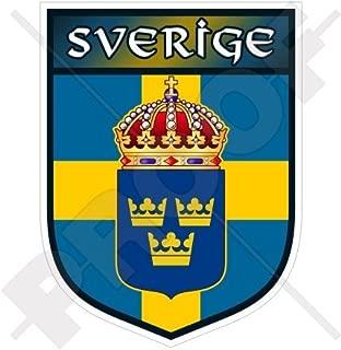 SWEDEN Swedish Shield SVERIGE 100mm (4