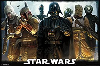 Trends International Star Wars Bounty Hunters Collector's Edition Wall Poster 24