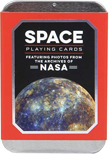 Space Playing Cards: Featuring Photos from the Archives of NASA (Premium Playing Cards, Cool Poker Cards, NASA Gifts)