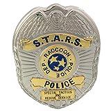 mesky distintivo polizia biohazard re2 s.t.a.r.s cosplay in lega di zinco bronzo accessorio costume cosplay collezione pin resident evil 2 regalo per unisex adulti fans