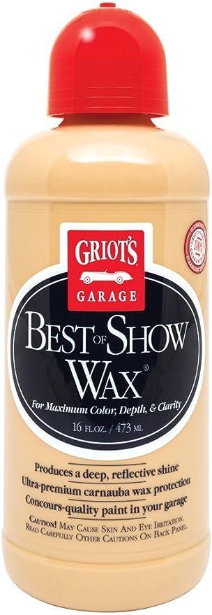 Griot's Garage 11171 Best of Show Wax - 16 oz.: image