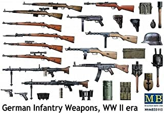 Master Box WWII German Infantry Weapons Figure Model Building Kits (1:35 Scale)