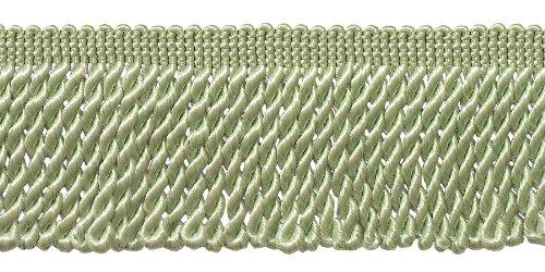 9.1 Meter Value Pack|Pale Jade 64mm Bullion Fringe Trim|Style# EF25|Color: Light Jade Green - G12 (30 Ft / 10 Yards)