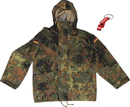 AOS-Outdoor Original BW Bundeswehr Nässeschutzjacke Originalware ! Gr.I Flaschenöffner