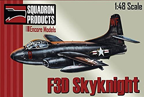 ENC48004 1 48 Encore Models F3D-2 Skyknight [MODEL BUILDING KIT] by Encore Models