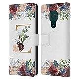 Head Case Designs sous Licence Officielle Nature Magick Letter Z Monogramme Fleurs Florale Or 2...