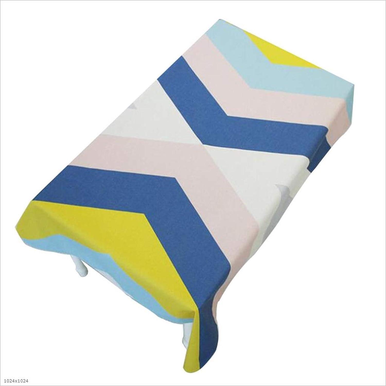 ZYY Baumwolle Und Leinen Wasserdicht Tischtuch Tischdecke Rechteckige Couchtisch Tuch (größe   140  200cm) B07H5FY5CS Großartig | Der neueste Stil