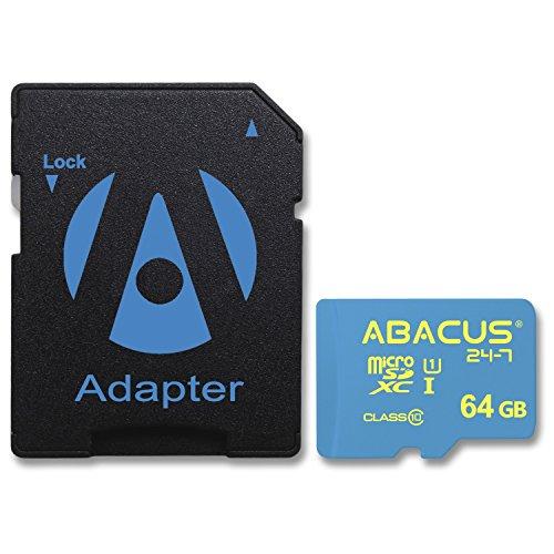 Abacus24-7 64GB microSD Speicherkarte UHS-I Class 10 für Nintendo Switch Konsole