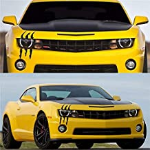 KND Car Stickers Funny Monster Scratch Stripe Claws Marks Decal Car Scratch Headlight Decal Reflective Sticker for Car headlampe