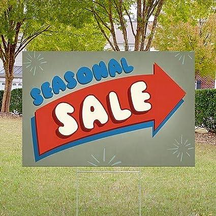 18x12 5-Pack Nostalgia Arrow Double-Sided Weather-Resistant Yard Sign CGSignLab Seasonal Sale