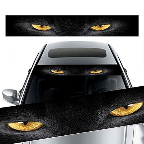Delleu Auto vorne hinten Windschutzscheibe Aufkleber Auto Aufkleber Terrorist Dekoration 3D Sonnenschirm dekorative Schatten Aufkleber