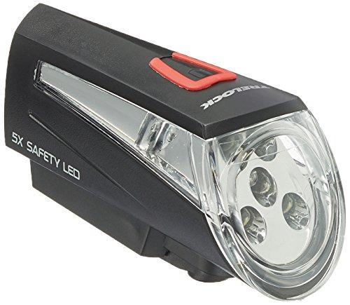 Trelock LED-Batterieleuchte LS 280, schwarz, 452