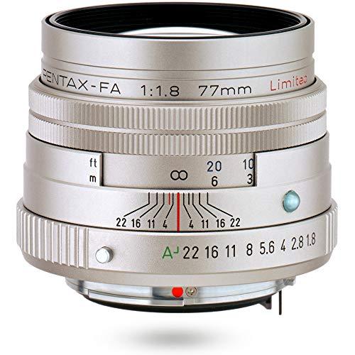 PENTAX リミテッドレンズ 望遠単焦点レンズ FA77mmF1.8 Limited シルバー Kマウント フルサイズ・APS-Cサイ...