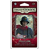 Arkham Horror The Card Game Stella Clark Starter Deck   Horror Game   Mystery Game   Cooperative Card Game   Ages 14+   1-2 Players   Average Playtime 1-2 Hours   Made by Fantasy Flight Games