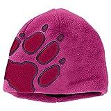 Jack Wolfskin Kids Front PAW Hat (Modell Winter 2017) Lila, Kinder Accessoires, Größe One Size - Farbe Fuchsia
