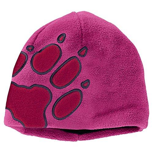 Jack Wolfskin Kids Front PAW Hat Lila, Kinder Kopfbedeckung, Größe One Size - Farbe Fuchsia