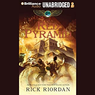 The Red Pyramid audiobook cover art