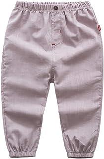 Gyratedream Pantalons Gar/çon Fille Harem Pants D/écontract/é Coton Pantalon l/âche pour 1-5 Ans B/éb/é
