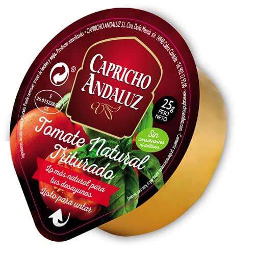 Caja 160 Tarrinas de Tomate Natural Triturado 25g